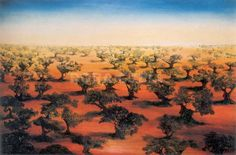 ines: Anton Lehmden Vienna School Of Fantastic Realism, Olive Tree, Anton, Austria, Painting, Vienna, Painting Art, Paintings, Painted Canvas