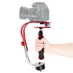 Steadycam Handheld Video Stabilizer Digital Compact Camera Holder Motion Steadicam For Canon Nikon Sony Gopro Hero Phone DSLR DV #Affiliate