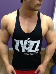 bea33ea388524 Zyzz Tribute Gym Stringer Singlet