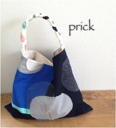 sashiko bag, minne(ミンネ)| ステッチコラージュ/ワンショルダーバック