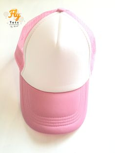 Pink Trucker Hat Fly Tots