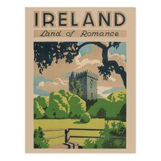 Vintage Ireland Postcard