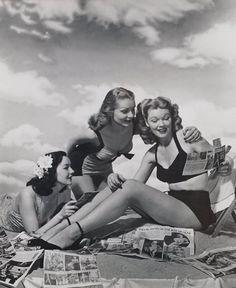 Girls on the beach...