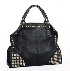 Fashion Diamond Rivets Shoulder Messenger Handbag [grhmf2200011] on Luulla