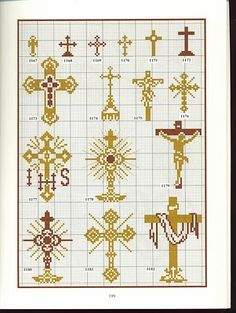 Custodia y cruces.
