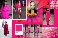 Modne kolory [wiosna-lato 2017]: fuksja, fot. Imaxtree, Fotolia, kolaż Agata Wojtczak