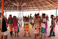 La danza del indio en Punta de Horno