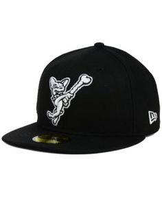 New Era EL Paso Chihuahuas Black and White 59FIFTY Cap Men - Sports Fan  Shop By Lids - Macy s 7c7999a72c5
