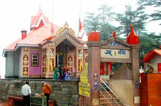 Jakhoo Temple is an ancient temple in Shimla, dedicated to Hindu deity, Hanuman.It is situated on Jakhoo Hill, 2.5 km /1.3 miles east from the Ridge, Shimla at a height of 2,455 m (8,000 feet) above sea level.[2] Shimla's highest peak offers a panoramic view of the Shivalik Ranges and the town of Sanjauli.