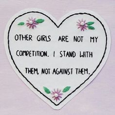 Girls stand with them feminist feminism