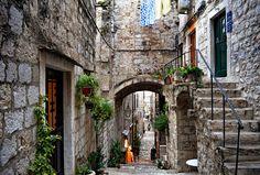 Dubrovnik, utcarészlet Dubrovnik