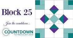 AQS Countdown to Paducah Block 25 Header Image