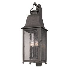 "Elk Lighting | Aged Pewter Larchmont Four-Light Wall Mount | Elk sku: B3213 | 10""w x 11.25""ext x 31.5""h 