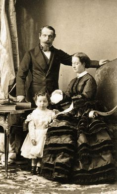 Emperor Napoléon III and his family Empress Josephine, The Empress, French Royalty, Baronet, French History, French Empire, History Of Photography, France, Pictures To Paint