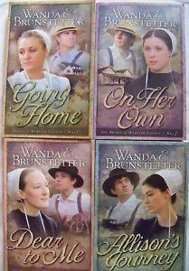 wanda brunstetter book list | ... -of-Webster-County-Wanda-Brunstetter-Amish-Romance-Series-Books-1-4