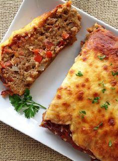 Low FODMAP Recipe and Gluten Free Recipe - Italian meatloaf http://www.ibssano.com/low_fodmap_recipe_italian_meatloaf.html