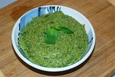 White Bean Pesto / Gluten-Free, Nut-Free, Oil-Free, Vegan,