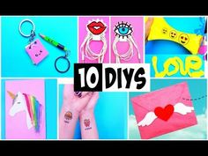 MAKING 10 AMAZING DIY BFF Gift Ideas, School Supplies, Room Decor COMPILATION! - YouTube
