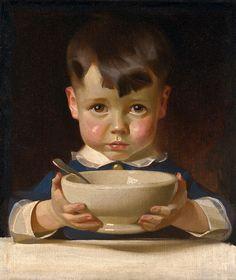 А где моя большая ложка... Joseph Christian Leyendecker (American, 1874-1951).. Обсуждение на LiveInternet - Российский Сервис Онлайн-Дневников