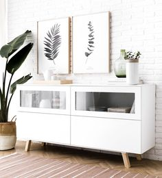 White Space, Nordic Style, Minimalist Decor, Small Apartments, Modern Bedroom, Decoration, Home Furniture, Ikea, Sweet Home