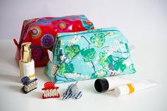 DIY Näh-anleitung Kosmetiktasche // DIY sewing-instruction cosmetikbag via blog.DaWanda.com