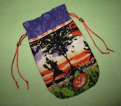 Tarot Card Bag All Witches Night 6X9 Halloween Samhain All Hallows Eve Magick