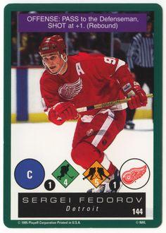 e437db989 Sergei Fedorov   144 - 1995-96 Playoff One on One Hockey