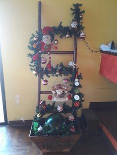 Escalera de literas decorada