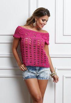 Lindas ideias para fazer em crochê neste verão