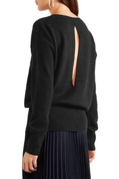 Shop on-sale Vince Cutout cashmere sweater . Browse other discount designer Knitwear & more on The Most Fashionable Fashion Outlet, THE OUTNET.COM
