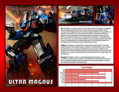 Ultra Magnus by CitizenPayne.deviantart.com on @DeviantArt