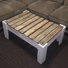 Once you have located the right DIY coffee table plans, completion of your project will take just a few hours. Coffee tables can be created with just a few supplies and tools, many of which you probably already have on… Continue Reading → Coffee Table Design, Coffee Table Plans, Diy Coffee Table, Pallet Furniture Designs, Wooden Pallet Furniture, Woodworking Furniture, Diy Furniture, Business Furniture, Custom Woodworking
