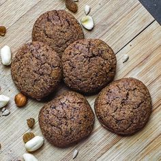 Healthy Sweets, Healthy Recipes, Healthy Snaks, Vegan Gluten Free, Sweet Recipes, Sugar Free, Cookie Recipes, Sweet Tooth, Food And Drink