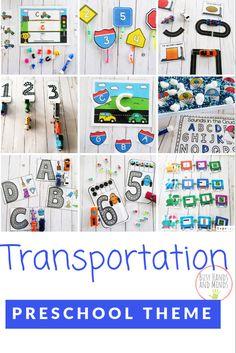 Transportation Preschool Theme