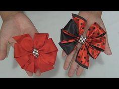 Como Fazer Laço com Fita de Cetim Laço Mil Faces DIY - PAP - TUTORIAL - YouTube