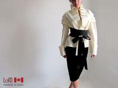 Zen Kimono Blouse by LoVDdesign on Etsy - $145