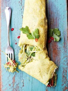 Mexican Filled Omelette | Eggs Recipes | Jamie Oliver