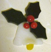 fused glass christmas ornaments | Christmas Ornament Glass Fusing Project