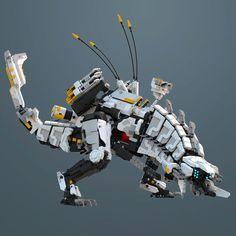 The Thunderjaw UCS - # ley La mejor imagen sobre healt para tu gusto Es - Lego Mecha, Lego Bionicle, Pokemon Lego, Lego Dragon, Robot Animal, Lego Sculptures, Lego Pictures, Robot Concept Art, Lego Room