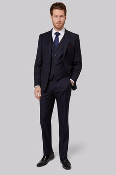 Savoy Taylors Guild Regular Fit Navy Jacket Upgrade your formalwear collection with this elegant navy suit from Savoy Taylors Guild. This versatile single-breasted suit jacket with half-canvassed lining certainly deserves a place in your workwe http://www.MightGet.com/january-2017-12/savoy-taylors-guild-regular-fit-navy-jacket.asp