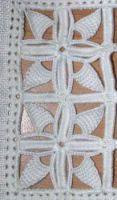Reticello - Подушка imparaticcio Hardanger Embroidery, White Embroidery, Beaded Embroidery, Cutwork, Collars, Beads, Lace, Straight Stitch, Needlepoint