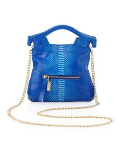 1f1871584ed1 Shop Tiny City Crossbody Bag, Blue from Foley + Corinna at Neiman Marcus  Last Call, where you'll save as much as on designer fashions.