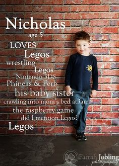 Birthday announcement ideas add hight, weight, whats hes learned in the yeat and what he wants to be when he grows up