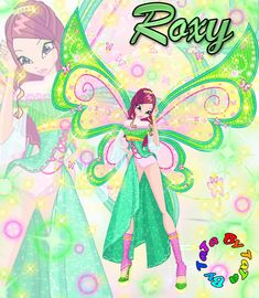 Bloom From Winx Club | Winx Club Bloom magic roxy