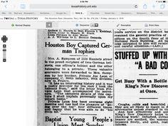 The Portal to Texas History / The Houston Post. (Houston, Tex.), Vol. 34, No. 274, Ed. 1 Friday, January 3, 1919