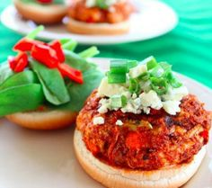 buff chicken burgers 15 Recipes for #Tasty #Chicken #Burgers | Yummy Recipes