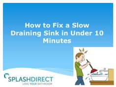How to Fix a Slow Draining Sink in Under 10 Minutes #diy