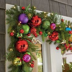 Merry and Bright Cordless Garland