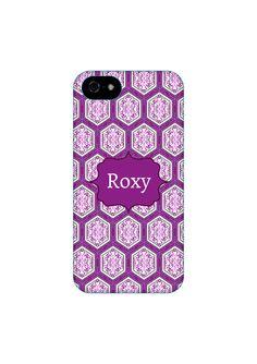 Purple Boho iPhone Case, Samsung Galaxy Case