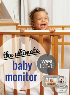 Pan, scan and zoom to check on baby without awaking them in the middle of the night or nap time. No more staking out in front of the door listening in!